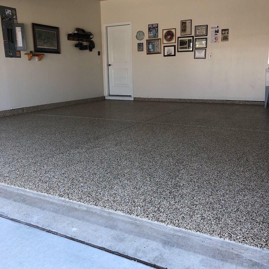Epoxy Flooring By OLT Painting Garage