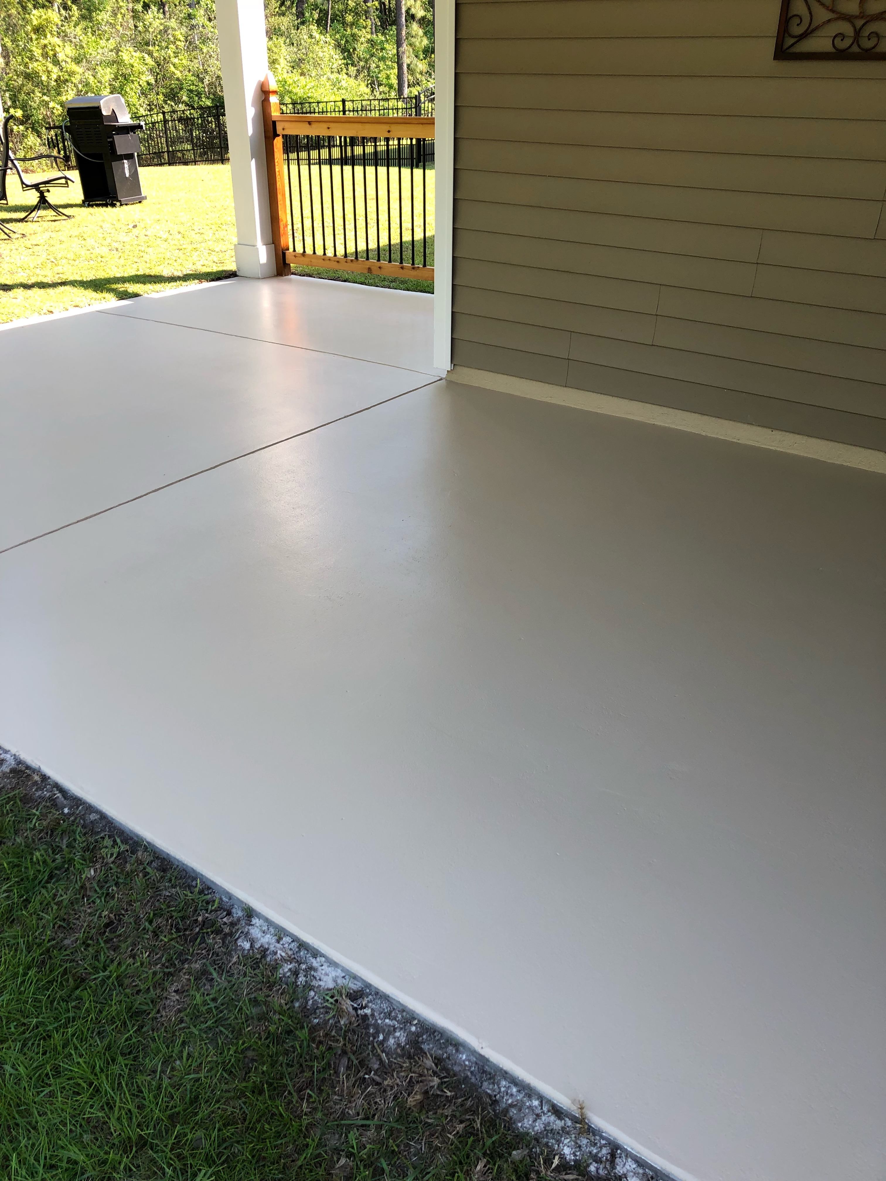 Epoxy Flooring On Porch 2 By OLT Painting