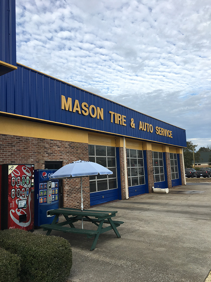 OLT Painting Commercial Exterior Mason Tires