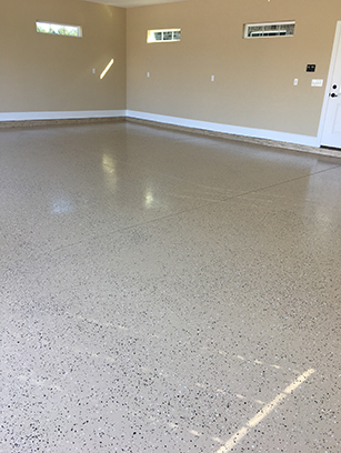 Garage Epoxy Flooring by OLT Painting