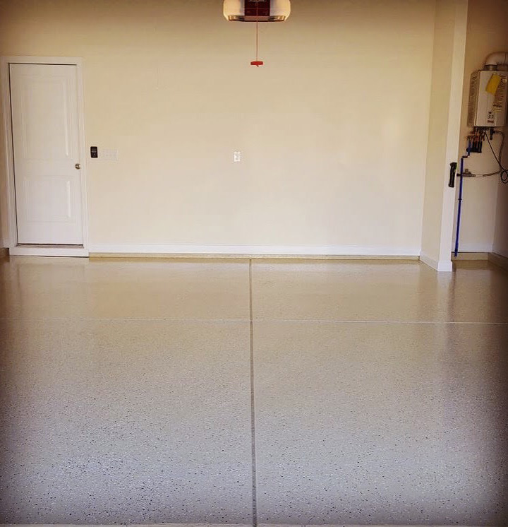 OLT Painting Residential Garage Floor