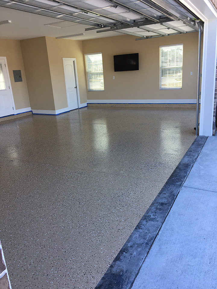 OLT Painting Residential Garage Floor2